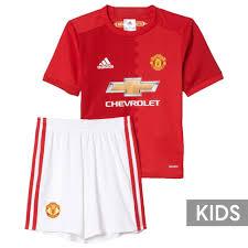 Jual Adidas Anak baju bola anak manchester united home 2017 adidas jual jersey