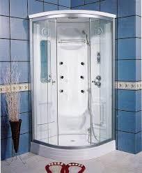 One Piece Bathtub Wall Surround One Piece Corner Shower Stalls Massage Wall Panel Jets 6 Top
