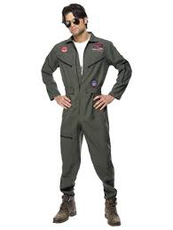 top gun jumpsuit mens top gun flight suit pilot jumpsuit costume fancydress com
