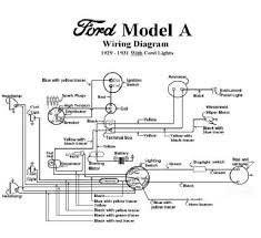 ford model a wiring diagram ford wiring diagrams instruction