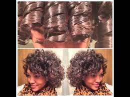 when was big perm hair popular large perm rod set on natural hair youtube