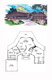 Cool House Plans Garage 16 Best Octagon Style House Plans Images On Pinterest Cool House