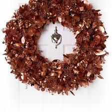 eucalyptus wreath of copper eucalyptus wreath larry walshe floral design