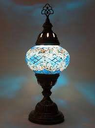 Small Blue Desk Lamp Table Lamps Lolo Rugs And Gifts