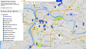Map Sacramento Map Of Selection Of Sacramento Area Projects Stephanie Taylor