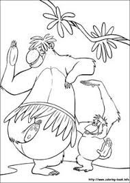 coloring jungle book coloring pages fairy tales