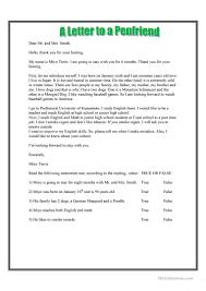 28 free esl formal letter worksheets