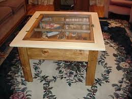 How To Make A Wooden End Table by 20 Diy Shadow Box Coffee Table Plans Guide Patterns