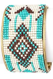 beaded cuff bracelet patterns images Seed bead native pattern cuff bracelet bracelets jpg