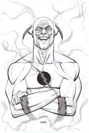 printable coloring pages the flash
