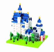 Neuschwanstein Castle Floor Plan by Amazon Com Nanoblock Castle Neuschwanstein 550 Pcs Toys U0026 Games