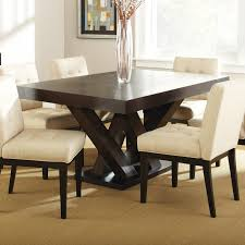 Silver Dining Room Set by Steve Silver Tf500tn Tiffany Dining Table In Dark Espresso Cherry