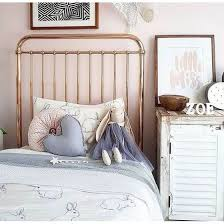 Metal Frame Single Bed Incy Interiors Gold Metal Framed Single Bed Room