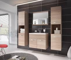 möbel für badezimmer kaufen badezimmer badmöbel montreal xl 60 cm waschbecken sonoma eiche
