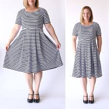 dress pattern without darts sew the perfect knit fit flare dress without a pattern it s