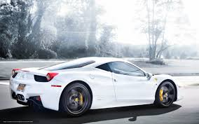 ferrari back view download wallpaper ferrari italy white back view free desktop