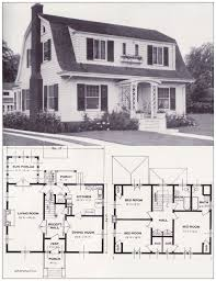 house plans 1920s dutch house designs prairie style home plans