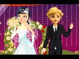 wedding dress up ladybug wedding dress up miraculous ladybug and cat noir