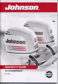johnson outboard owners manual 2003 4hp 5hp 4 stroke models r4 rl4