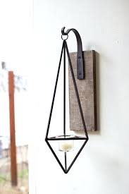 Candle Wall Sconces Wrought Iron Sconce Rod Iron Candle Wall Sconces Rectangular Iron Glass Wall