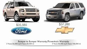 ford explorer vs chevy tahoe 2010 ford expedition vs 2010 chevy tahoe