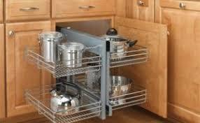 Kitchen Corner Cabinet Corner Kitchen Cabinet Storage Solutions Modern On Kitchen With