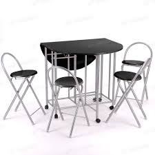 Black Folding Dining Table 57 Foldable Dining Table Set Choose A Folding Dining Table For A