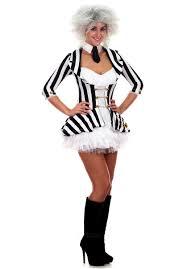 miss beetlejuice costume gothic fancy dress escapade uk