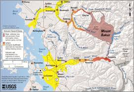 Washington State County Map by Volcano U2013 Mount Baker Whatcom County Wa Official Website