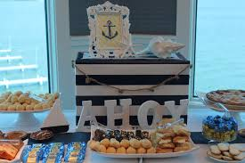 nautical themed baby shower nautical themed baby shower for desmond dessert table babies and