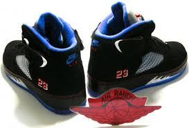 black and blue ribbon air 5 v fusion black varsity blue blue ribbon sneakerfiles