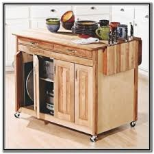 Breakfast Bar Kitchen Islands Kitchen Island Cart With Breakfast Bar Foter