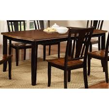 Cherry Dining Room Tables Black And Cherry Dining Table Dover Collection Rc Willey