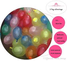 inflated balloons delivered new big discount free ship summer water balloons of refill