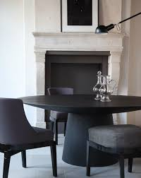 black round pedestal table great contemporary black round pedestal dining table house plan