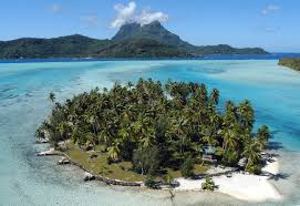 Map Of Bora Bora Islands For Sale In French Polynesia South Pacific