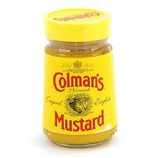 colman mustard colmans original mustard 100g