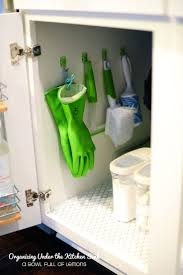 best under kitchen sink storage ideas pinterest organizing under the kitchen sink must this our cabinets