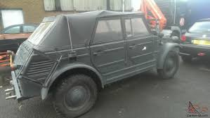 volkswagen type 181 thing vw type 181 trekker kubel wagon conversion the thing rod rat rod
