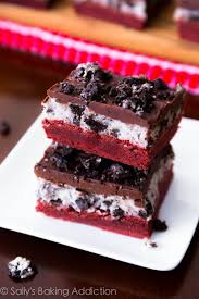 red velvet oreo brownies sallys baking addiction
