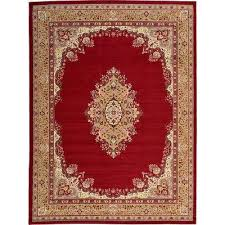 White And Red Area Rugs Red Area Rugs Rugs The Home Depot