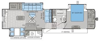 Cyclone Toy Hauler Floor Plans by 2016 North Point Luxury Fifth Wheel Floorplans U0026 Prices Jayco Inc