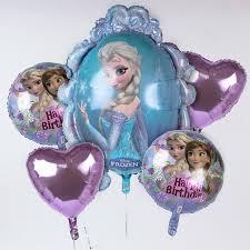 frozen balloons disney frozen foil helium balloon bouquet only 12 99