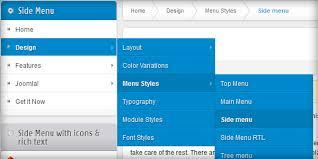 new counter menu styles