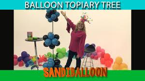 Lighted Topiary Trees Balloon Topiary Tree Diy Tutorial Youtube