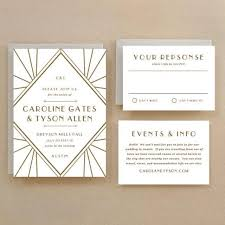 Gatsby Invitations Gatsby Wedding Invitations Template Wedding Invitation