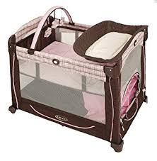 Pink And Brown Graco Pack N Play With Changing Table Graco Element Pack N Play Erin Playards Baby
