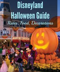 disneyland halloween 2017 guide rides food decorations