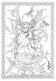 442 colouring fairies angels images