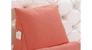 3 wedge sofa back cushions 1 x sofa cushion pillow wedge pad bed